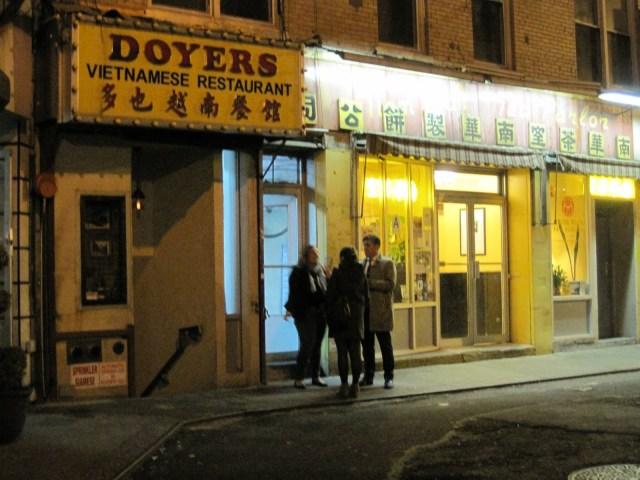 Entrada por Doyers St